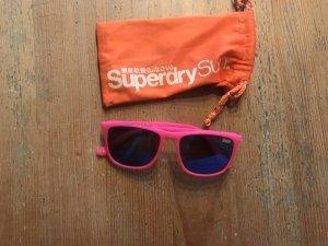 Superdry Angular Shaped Sunglasses pink-neon blue