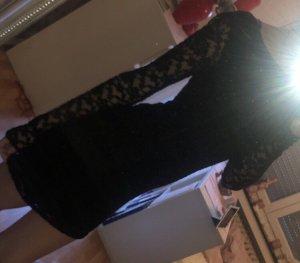 Superdry Kanten jurk zwart
