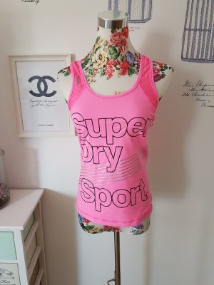 Superdry Sporttop roze-neonroos
