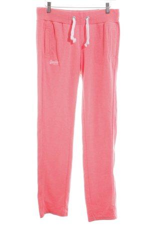 Superdry pantalonera rosa estilo deportivo