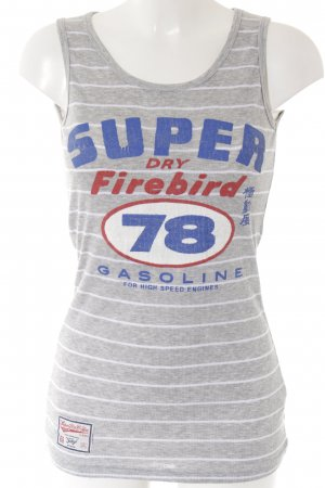 Superdry Sporttop gedrukte letters casual uitstraling