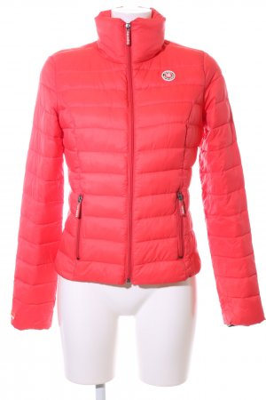 Superdry Steppjacke rot Steppmuster Casual-Look
