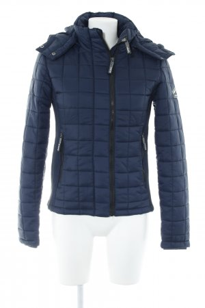 Superdry Steppjacke dunkelblau Casual-Look