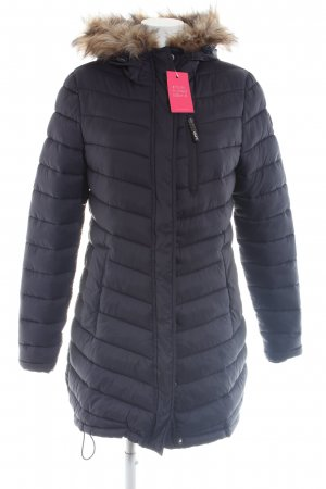 Superdry Quilted Coat black casual look