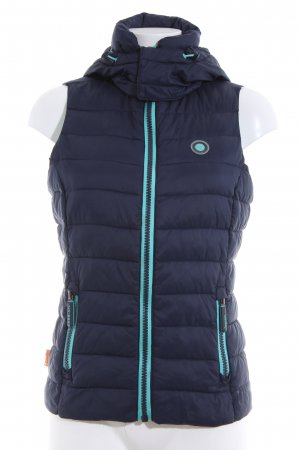 Superdry Quilted Gilet blue quilting pattern casual look
