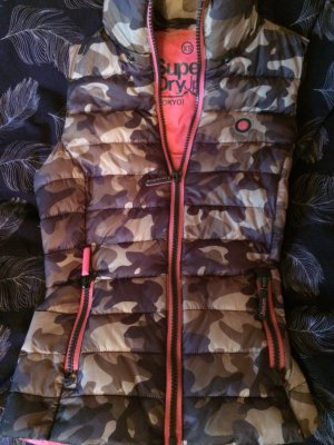 Superdry Steppweste XS Camouflage