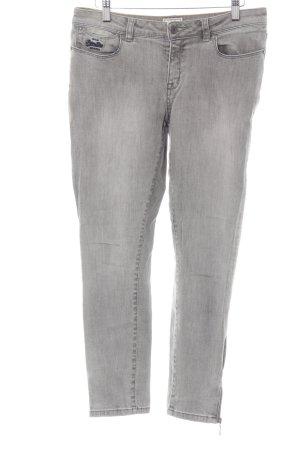 Superdry Stretch Jeans grau Casual-Look