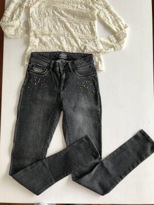 Superdry Stretch skinny slim Swarovski Jeans 25 wie 34
