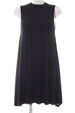 Superdry Vestido elástico negro estilo sencillo