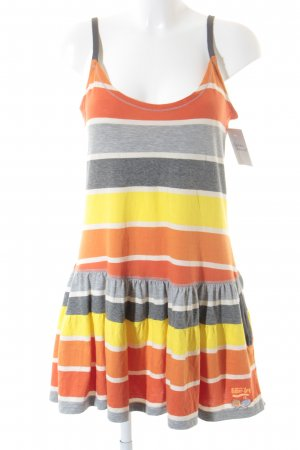 Superdry Stretch Dress striped pattern athletic style