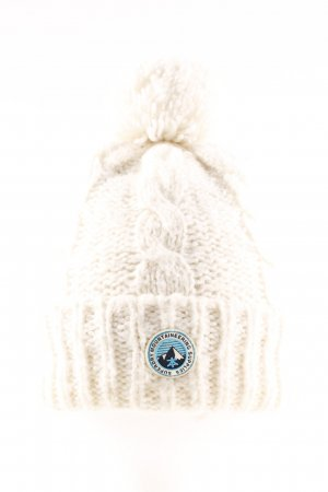 Superdry Knitted Hat cream casual look
