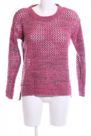 buy popular 02b39 658e4 Superdry Strickpullover pink-schwarz Webmuster Casual-Look