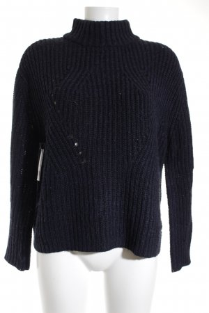 Superdry Strickpullover dunkelblau Casual-Look