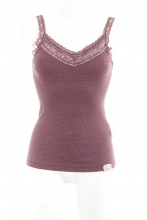 Superdry Knitted Top bordeaux simple style