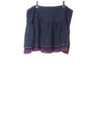 Superdry Gelaagde rok blauw-roze casual uitstraling