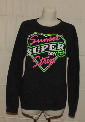 Superdry Oversized Sweater multicolored cotton
