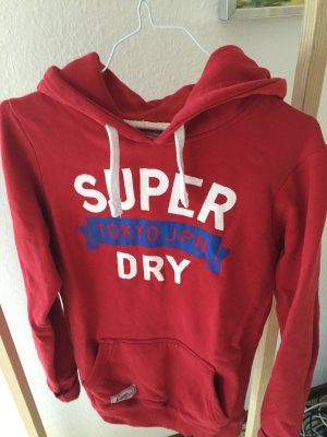 SUPERDRY Sweater in rot