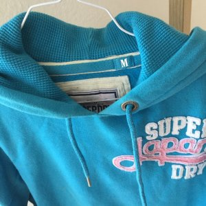 SUPERDRY Sweater in türkis