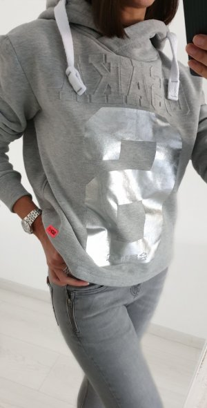 Superdry Sweater Pulli grau XS
