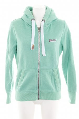 Superdry Sweat Jacket turquoise casual look