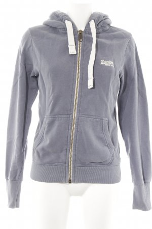 Superdry Sweatjacke blassblau Casual-Look