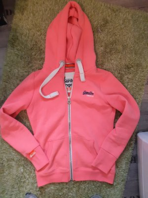 Superdry Giacca fitness fucsia neon