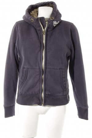 Superdry Sweatjacke dunkelblau Casual-Look