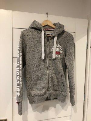 Superdry Shirt Jacket grey-white