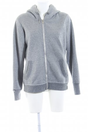 Superdry Sweat Jacket grey-silver-colored casual look