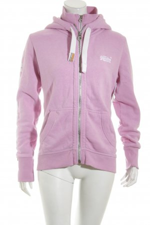 Superdry Giacca fitness rosa stile atletico