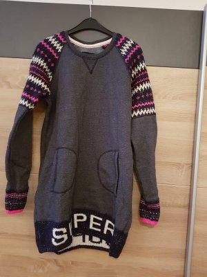 Superdry Vestido de tela de sudadera multicolor