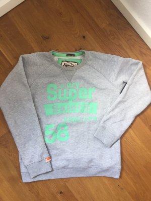 Superdry Jersey holgados gris claro