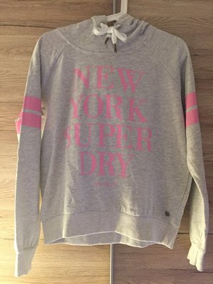 Superdry Hooded Sweatshirt light grey-pink