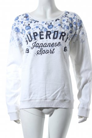 Superdry Sweatshirt Allover-Druck College-Look