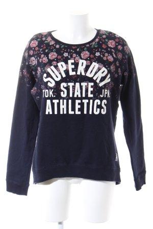 Superdry Sweatshirt bloemenprint casual uitstraling