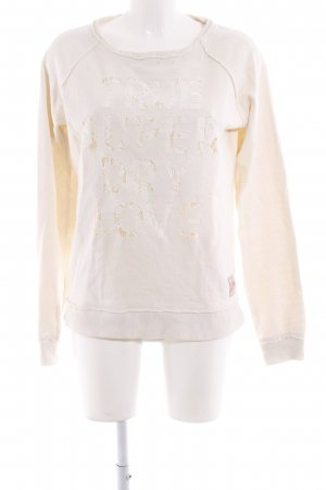 Superdry Sweatshirt creme-weiß Casual-Look