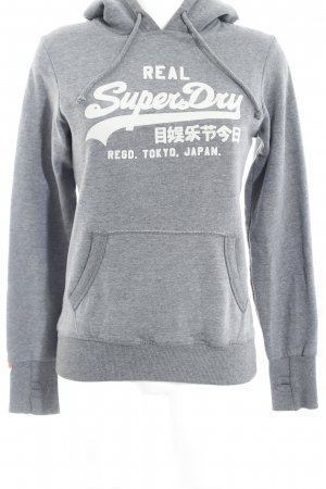 Superdry Sweatshirt grau Casual-Look