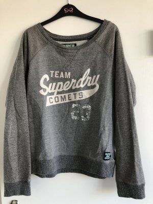 Superdry Sweatshirt in grau