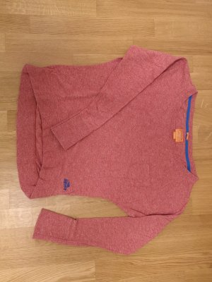 Superdry Sweatshirt mit U-Boot-Ausschnitt