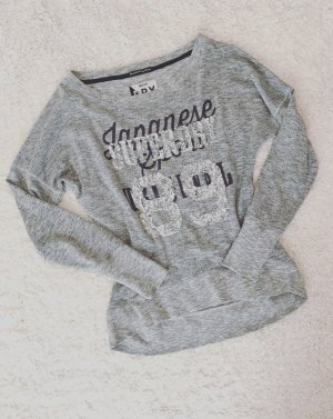 Superdry Sweatshirt Pailletten Blogger Pullover Hoodie Gr.S