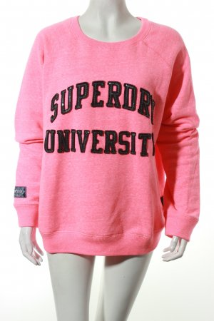 Superdry Sweatshirt pink Street-Fashion-Look