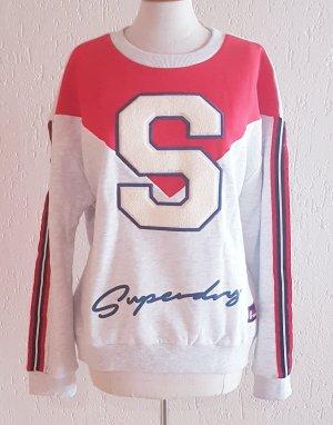 Superdry Sweatshirt 'S STATEMENT CREW SWEAT' Neu