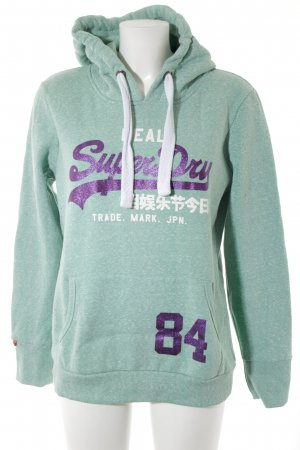 Superdry Sweat Shirt printed lettering casual look