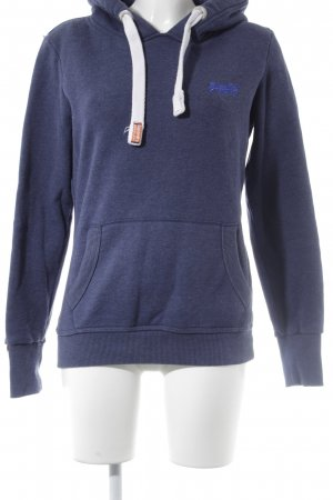 Superdry Sweatshirt stahlblau Casual-Look