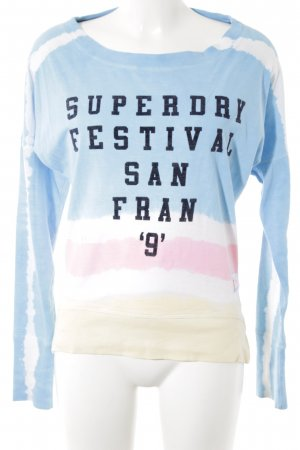 Superdry Sweatshirt Streifenmuster Casual-Look
