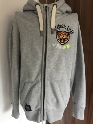 Superdry Veste sweat multicolore coton