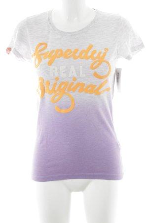Superdry T-Shirt Farbverlauf Casual-Look