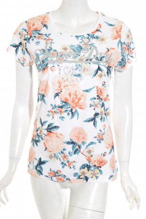 Superdry T-Shirt florales Muster Casual-Look