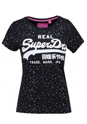 Superdry T-Shirt Gr.L NEU! vintage Logo Stars