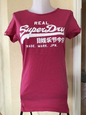 Superdry T-Shirt Gr L Pink